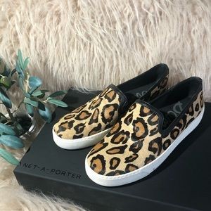 Sam Edelman Slip-on Leopard Sneakers